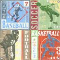 Sports Game Tickets Canvas Reproduction
