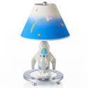 Rocket Ship Table Lamp