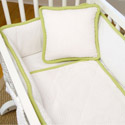 The MOD Frog Cradle Bedding Set