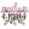 Pink Blossom Chandelier
