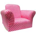Child's Polka Dotted Standard Rocker