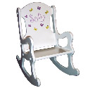 Flutter By, Butterfly Rocking Chair