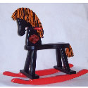 Personalized Harley Davidson Rocking Horse