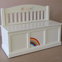 Personalized Colors of Fun Toy box