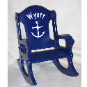 Personalized Sailor Rocking Chair