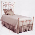 Bow Iron Twin Bed
