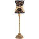 Antique Gold Leopard Lamp