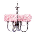 4 Arm Rose Garden Hampton Chandelier