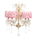 Rose Garden Colleen 5 Arm Chandelier