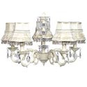 Ivory Dangle Chandelier