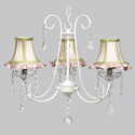 Fresh Scent 3 Arm Chandelier