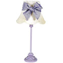 Lavender Leaf Scroll Lamp