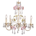 Multi Flower Garden Chandelier