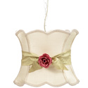 Hourglass Rose Pendant Light