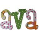 Cheerful Garden Wall Letters
