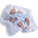 Baby Boy Doll with Bubble Suit and Blanket