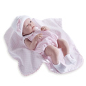 Baby Girl Doll with Bubble Suits and Blankets