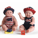 Summer Twin Baby Dolls