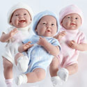 Lovable Triplet Baby Dolls