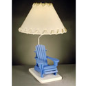 Beach Chair Table Lamp