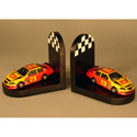 Race Car Bookends