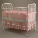 Antique Beauty Iron Crib