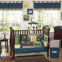 Construction Crib Bedding Set