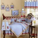 Frankie's Fire Truck Crib Bedding