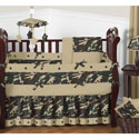 Camo Crib Bedding Set