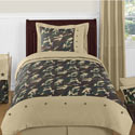 Camouflage Twin Bedding Set