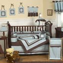 Hotel Crib Bedding Set