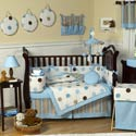 Mod Dots Crib Bedding Set