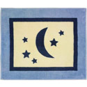 Stars and Moons Floor Rug
