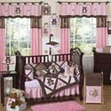 Teddy Bear Crib Bedding Set