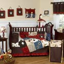 Wild West Crib Bedding Set