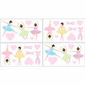 Ballerina Wall Decal