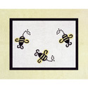 Bumble Bee Accent Floor Rug