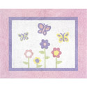Dancing Butterfly Accent Rug
