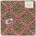 Cheetah Pink Memo Board