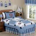 Come Sail Away Twin Bedding