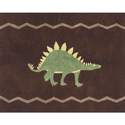 Dinosaur Land Accent Rug