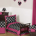 Hot Dot Toddler Bedding