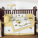 Honey Bee Crib Bedding Collection