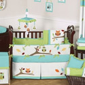 Hooty Crib Bedding Collection