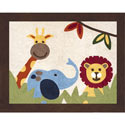 Jungle Time Accent Rug