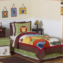 Jungle Time Twin/Full Bedding