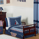 Nautical Nights Toddler Bedding
