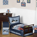 Ocean Blue Toddler Bedding Collection