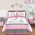 Paris Collection Twin/Full Bedding Set