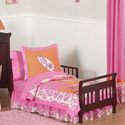 Surf Pink Toddler Bedding